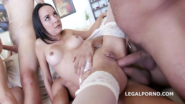 LegalPorno - Double Addicted.. anal big tits brunette